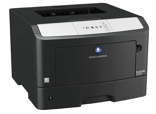 Small black office printer
