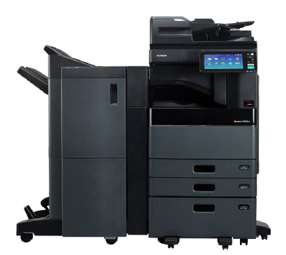 Black multifunction office printer